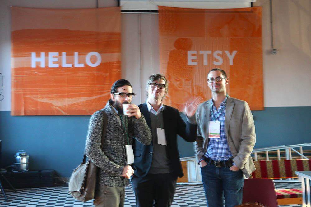 Randy, Matt and Andrew from Etsy