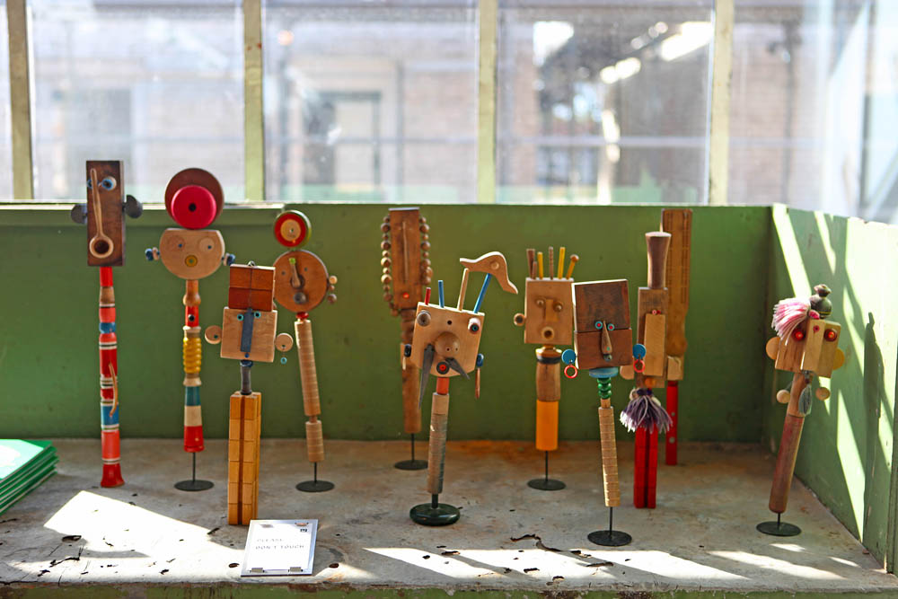 MillerGoodman wood sculptures and toys, more posted on the main blog.