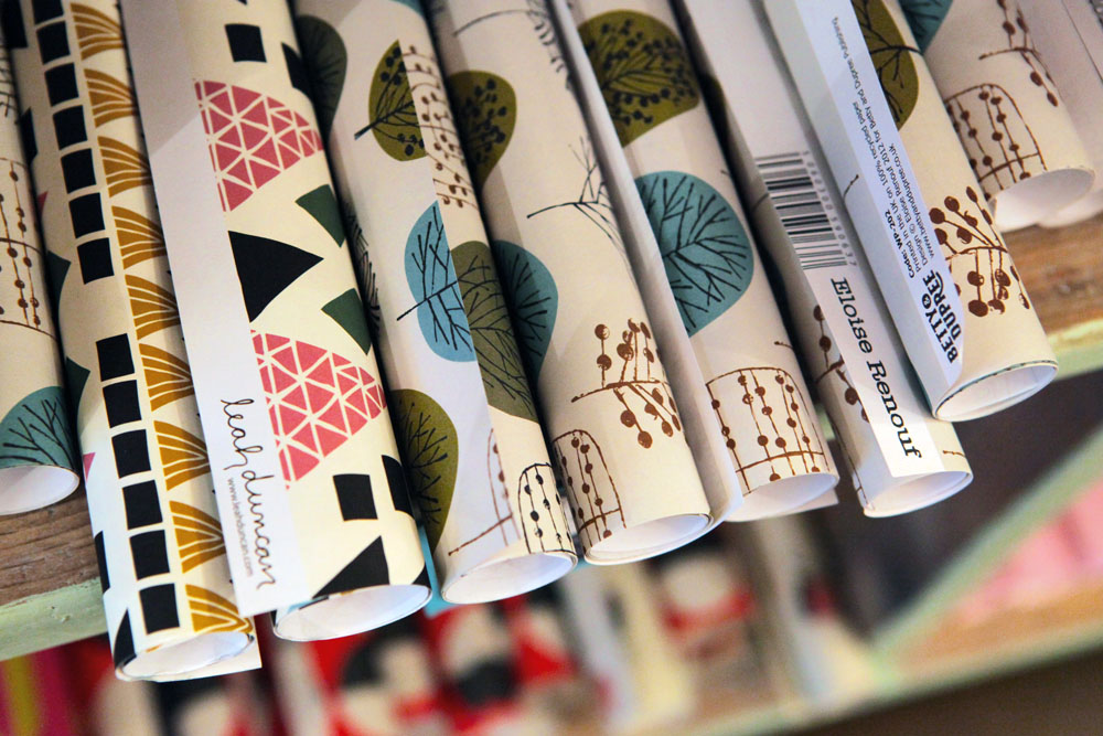 Papers by UPPERCASE favourites Leah Duncan and Eloise Renouf.