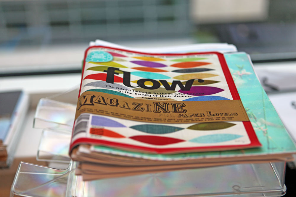 A proof of the first international (English) edition of Flow.