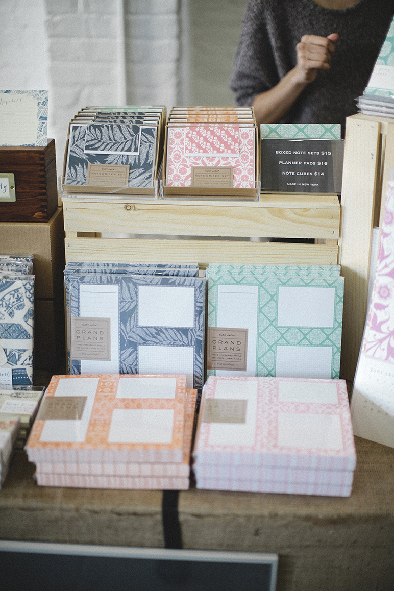 Susy Jack's eclectic and friendly patterned paper goods.