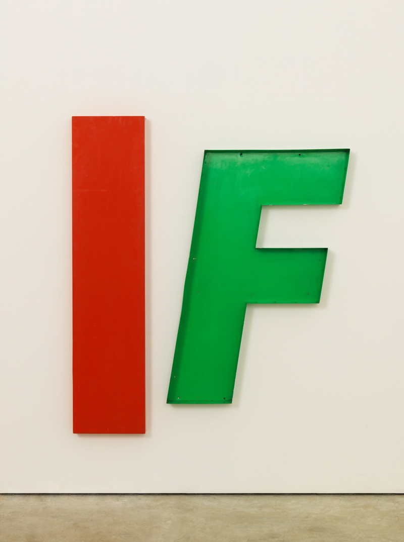 Jack Pierson, IF. Photo courtesy Art Basel Miami website.
