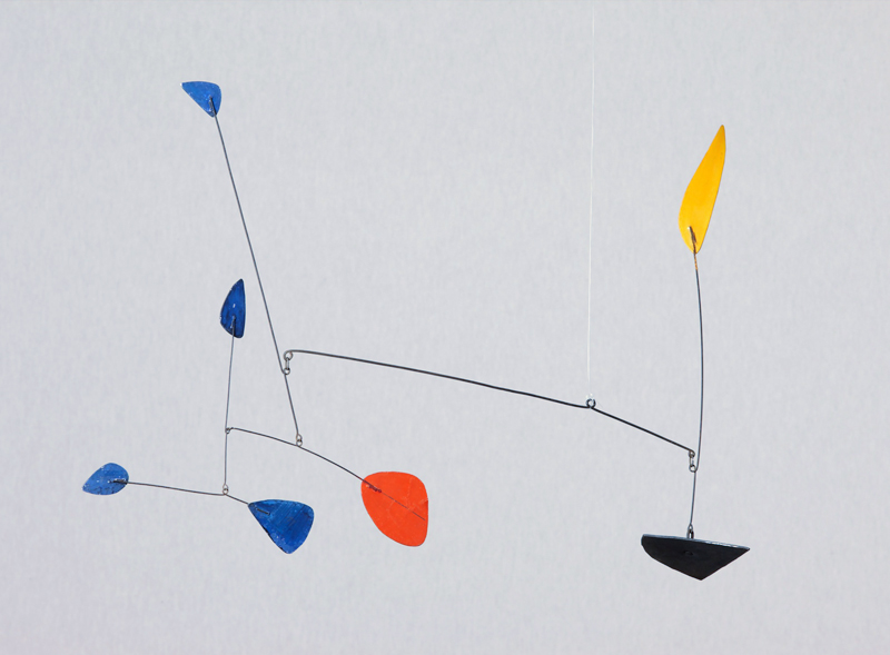 Alexander Calder, u  ntitled, c. 1960 Painted sheet metal and wire