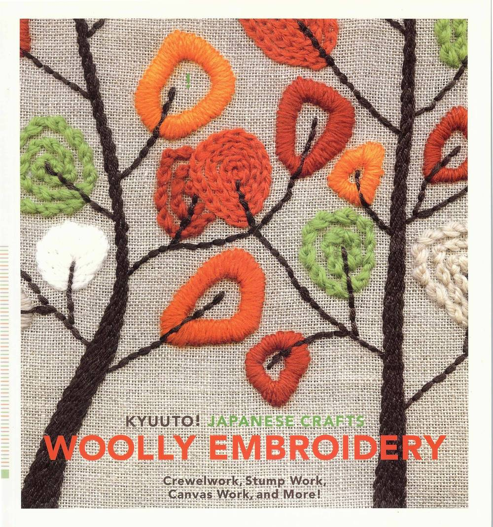Woolly Embroidery published by Chronicle Books