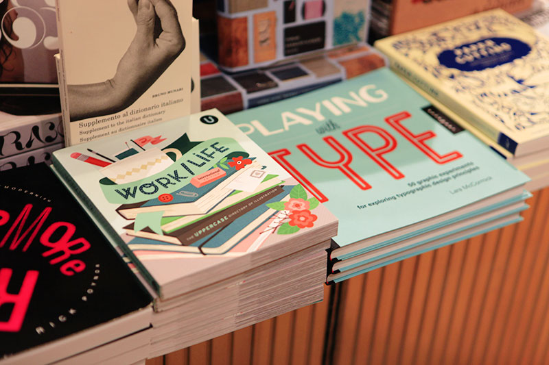 In addition to our magazine, they also have our other books like Work/Life and Collection a Day.