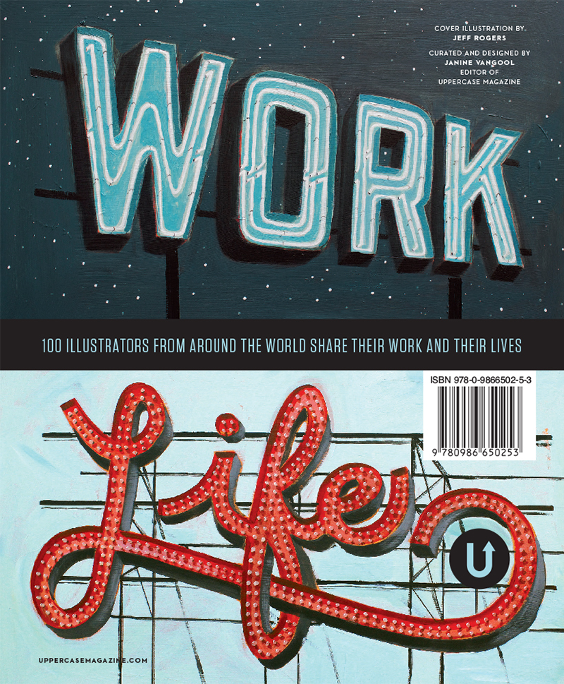 Back cover of Work/Life 3 by Jeff Rogers.