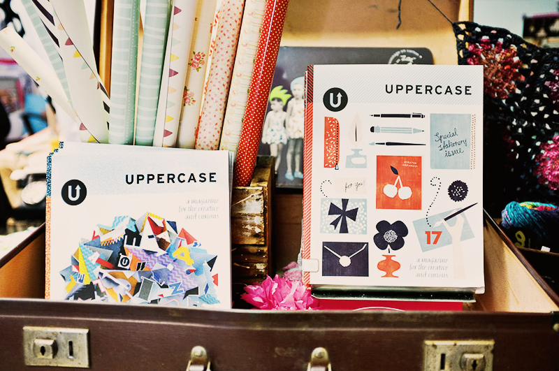 UPPERCASE at The Lovely Bird