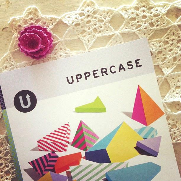UPPERCASE #19 is in stock now at The Lovely Bird and the newly renovated Mr. Sparrow.