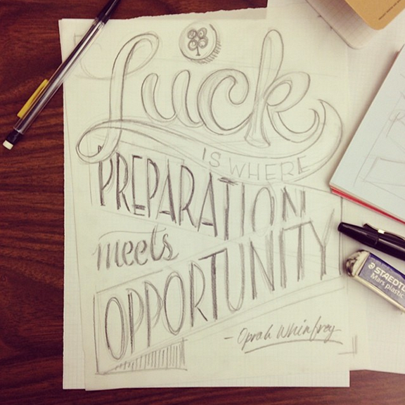 More of Christopher's work from a second hand-lettering workshop with   Lara McCormick .