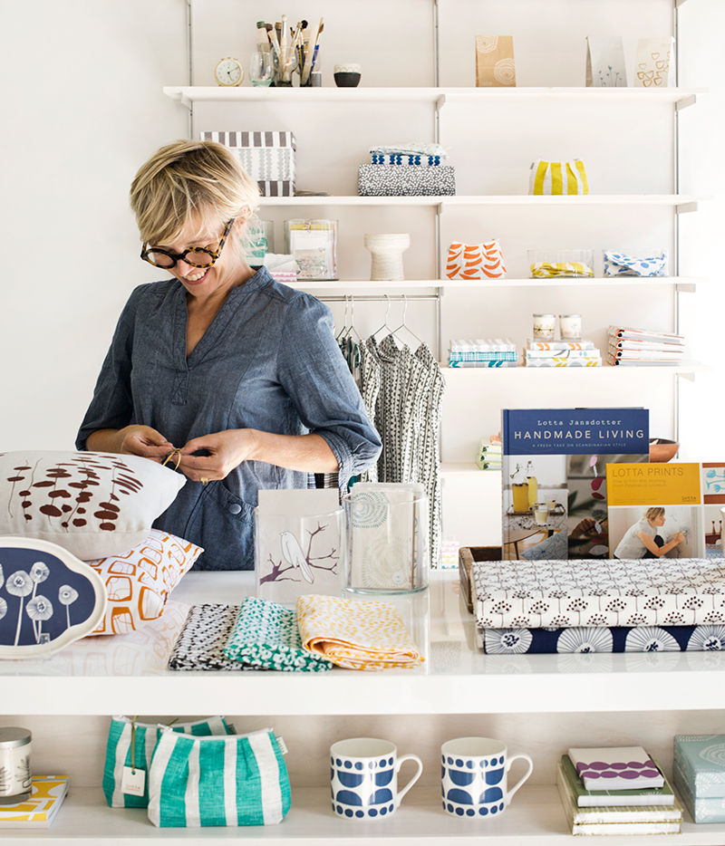 Lotta Jansdotter shares tips for creating a life full of pattern.