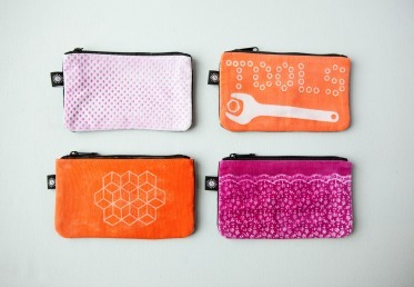 LUMI: SHADOW PRINTED POUCH Jesse Genet