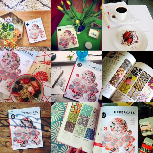 Thanks to these fabulous subscribers who have sent pictures of UPPERCASE in their lives: @asensiblehabit, @cananmarasligil, @mattshr, @maggiesayswhat, @light_and_lines, @natalie_gerber, @brickandmortarliving, @emilybluestar and @joceynuptse.