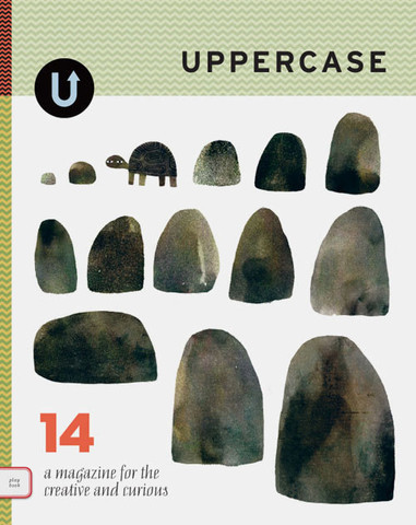 Issue #14 is still available as a back issue and features a special section on children's book illustration. Cover by Jon Klassen.
