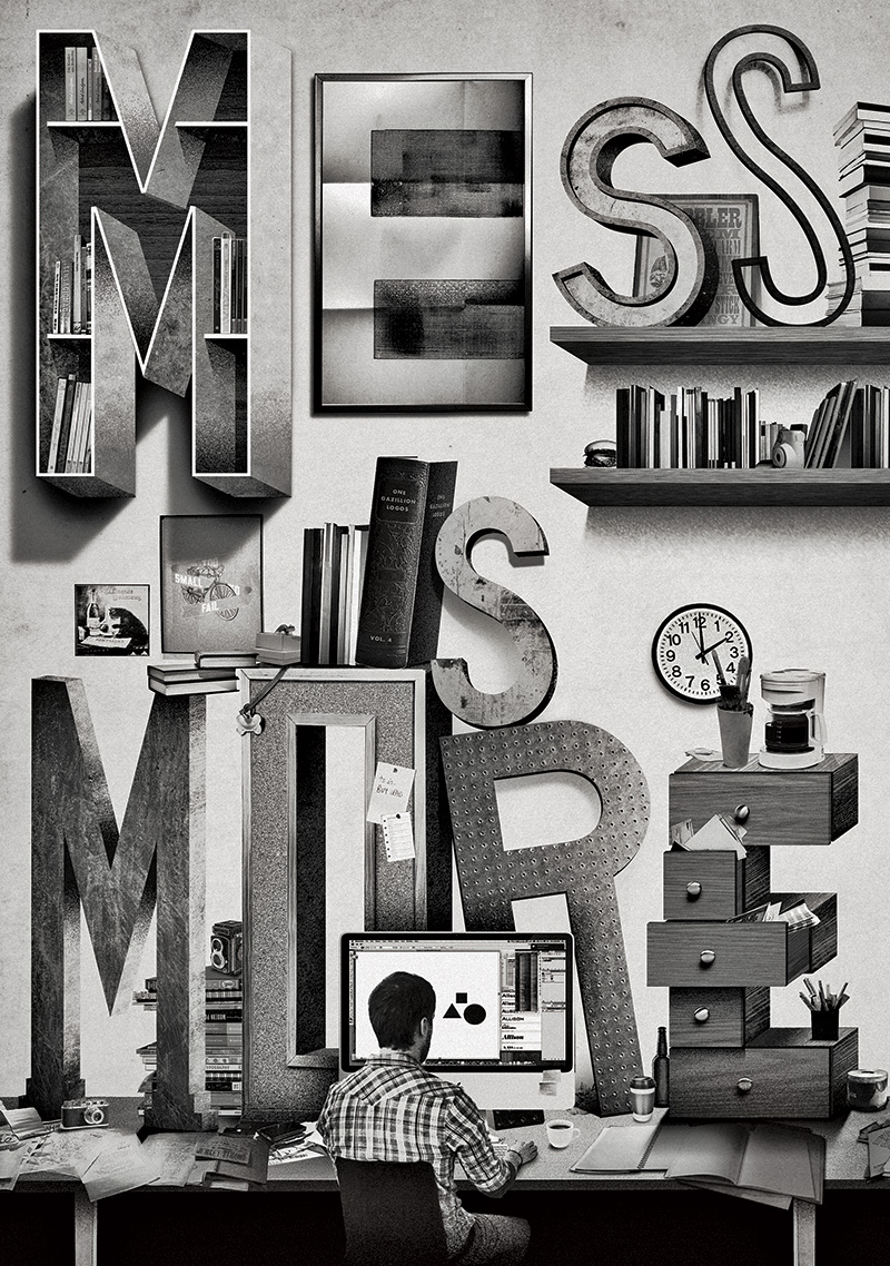 Mess is More by Jeff Rogers