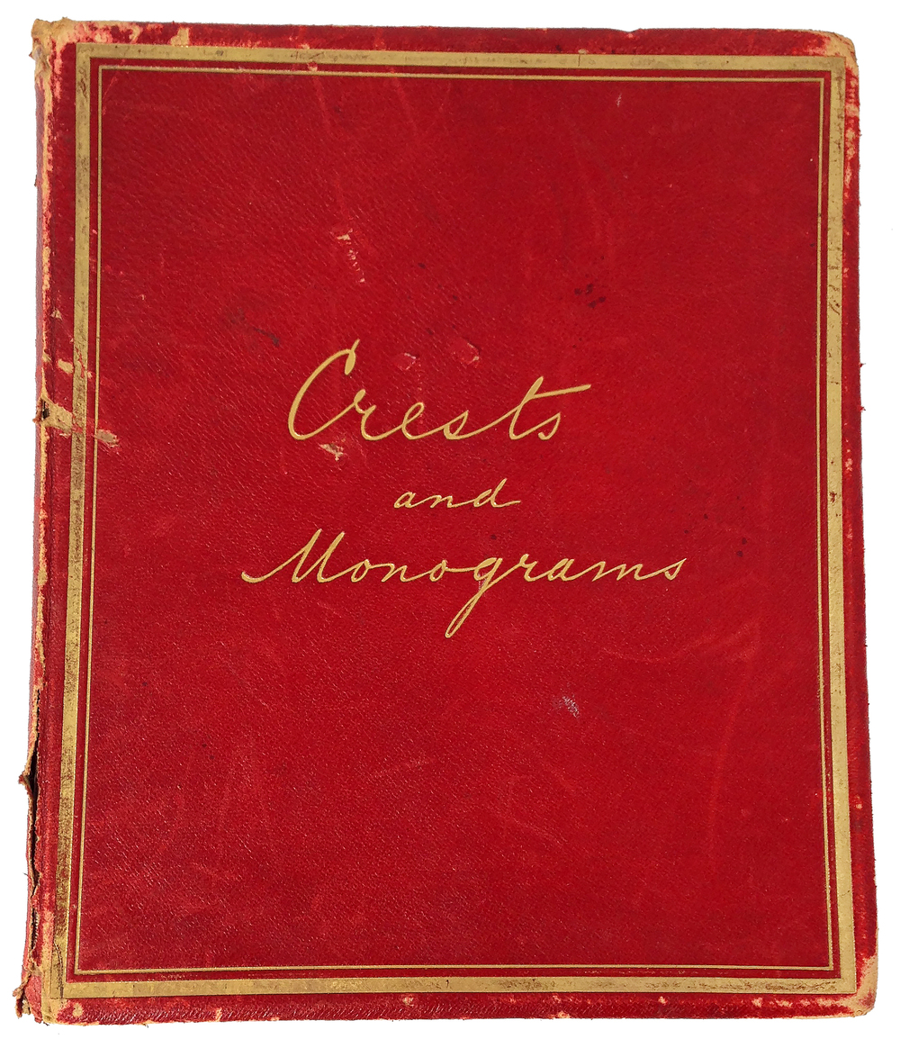 Featured ephemera: Crests and Monograms Collectors' Book
