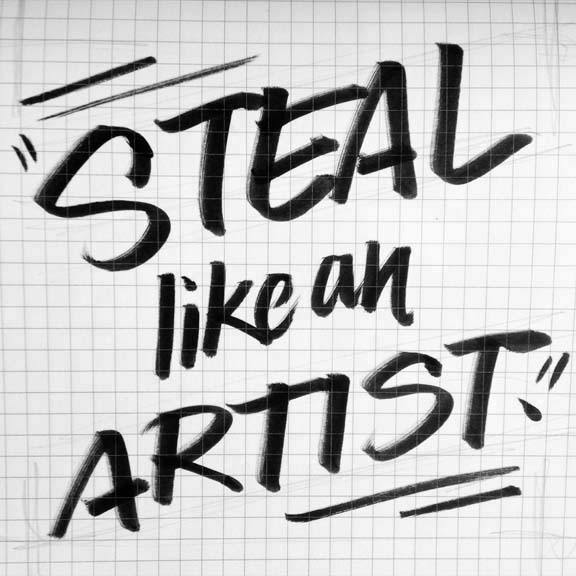 "Austin Kleon  Designer, author:  austinkleon.com , Austin, TX ""How to Steal Like an Artist"""