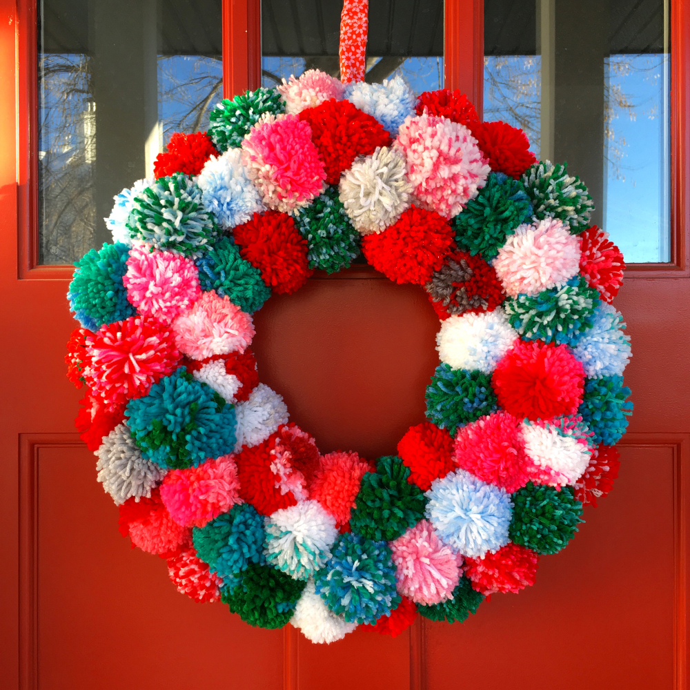 The wreath wasn't done until after Christmas, but at least it will be ready and waiting for next year's festivities! Or perhaps I'll just bring it indoors to enjoy year-round. It's nice to pet it once and a while!