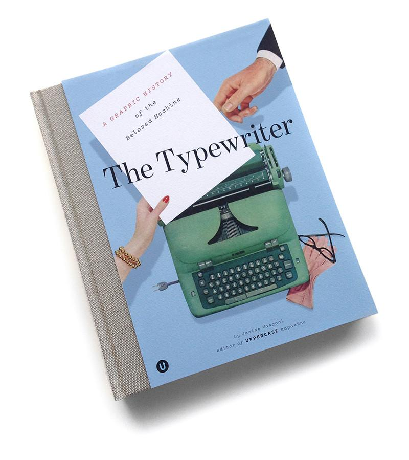 THE TYPEWRITER Soon to be a collector's item! Nearly out of print!  A richly illustrated book full of never-before published typewriter memorabilia, intriguing historical documents and entertaining anecdotes,   The Typewriter: a Graphic History of the Beloved Machine   is a beautiful ode to an all-but-obsolete creative companion.