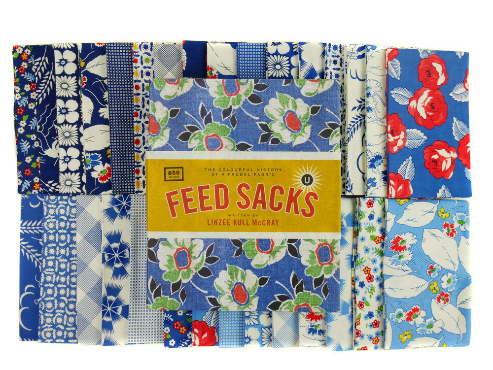 Feed Sacks: The Colourful History of a Frugal Fabric  is available in the  shop  as part of the Encyclopedia of Inspiration set or as an individual book.