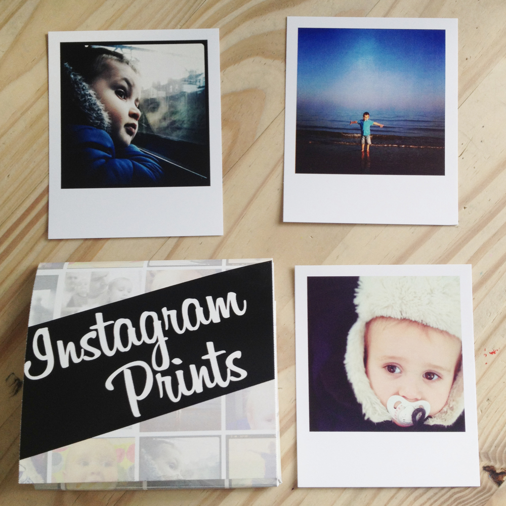 Instagram prints by firebox.com