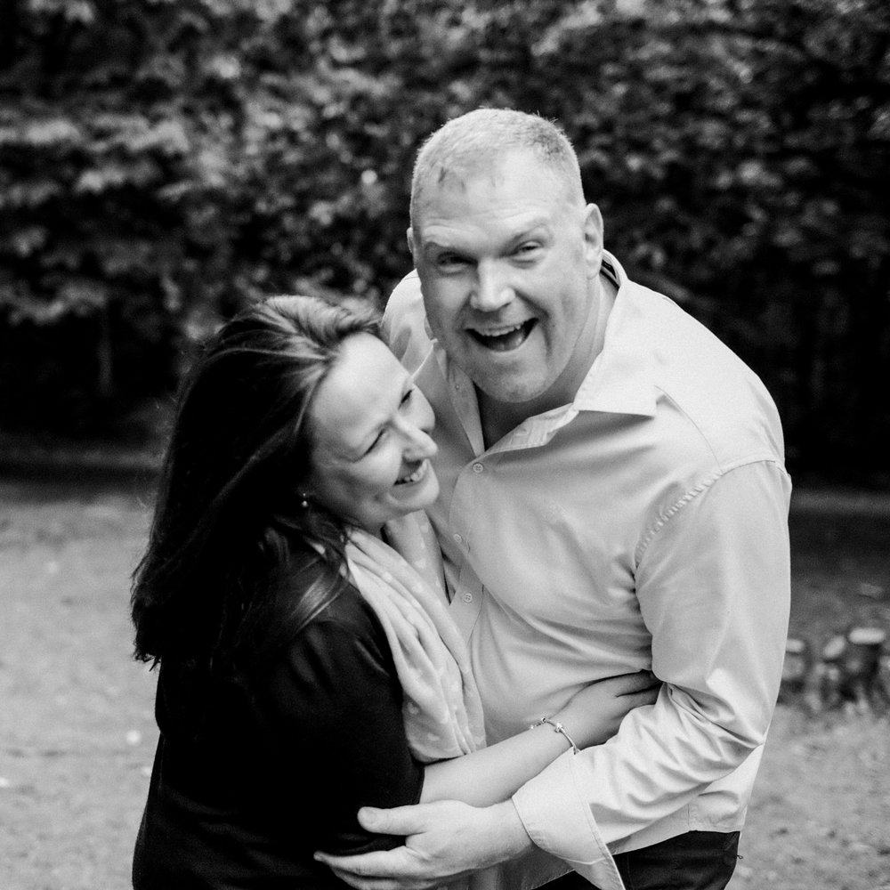 Stuart and I recently had a portrait photo shoot and it was so much fun. We laughed so much, felt relaxed and Love our photos as they are so natural and we can tell a story from them which makes them so much more personal. Thank you for such an enjoyable experience. -