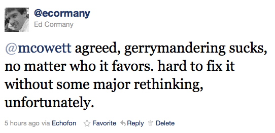 @mcowett agreed, gerrymandering sucks, no matter who it favors. hard to fix it without some major rethinking, unfortunately.