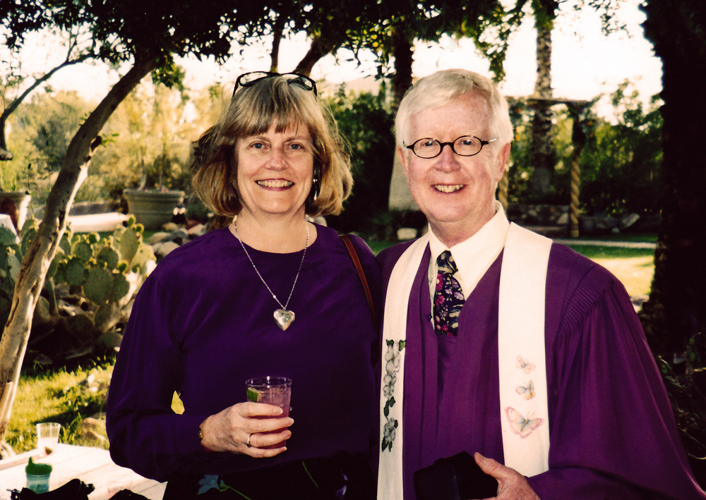 Ben and his wife, Mary Jo.