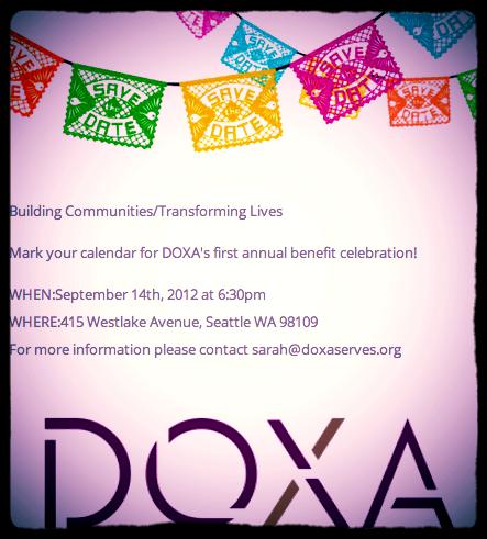 9/14: DOXA Benefit Celebration!