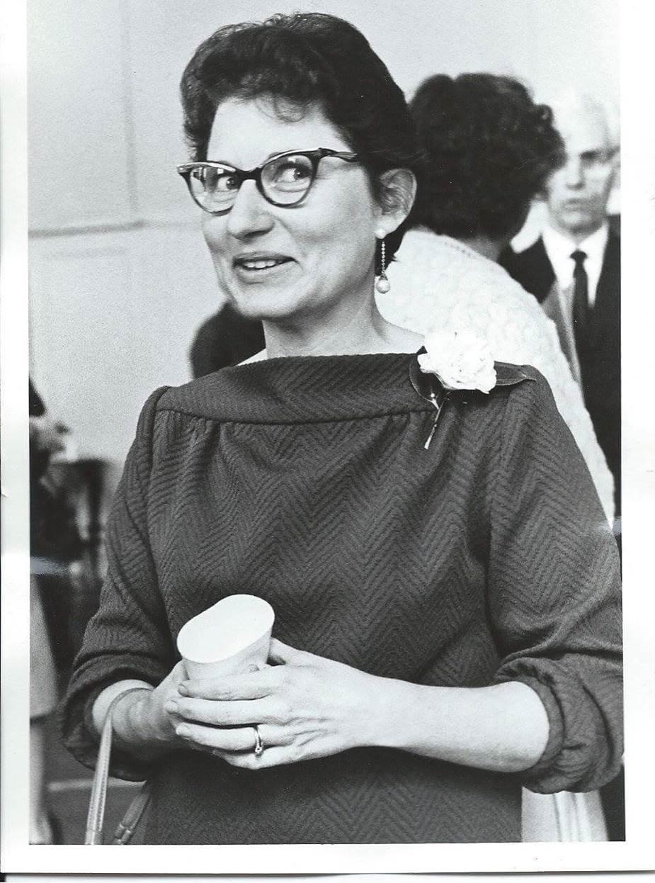Betty Nicholson in 1969 - Courtesy of Rev. Dr. Bob Nicholson.