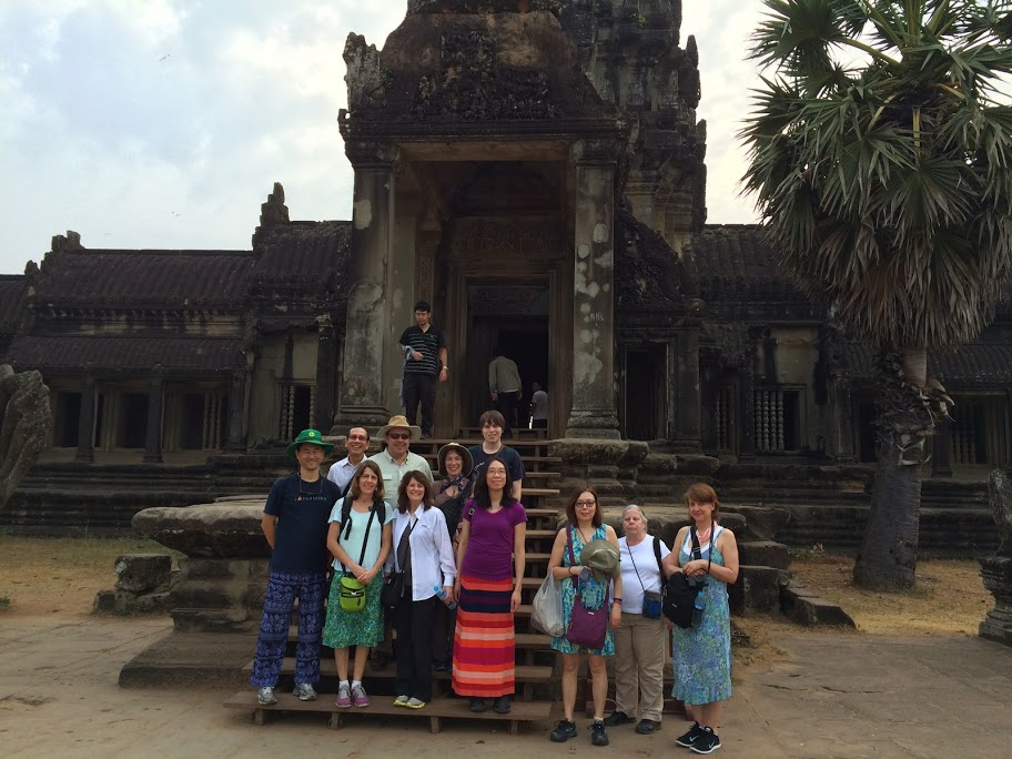 SEAM group at Angkor Wat