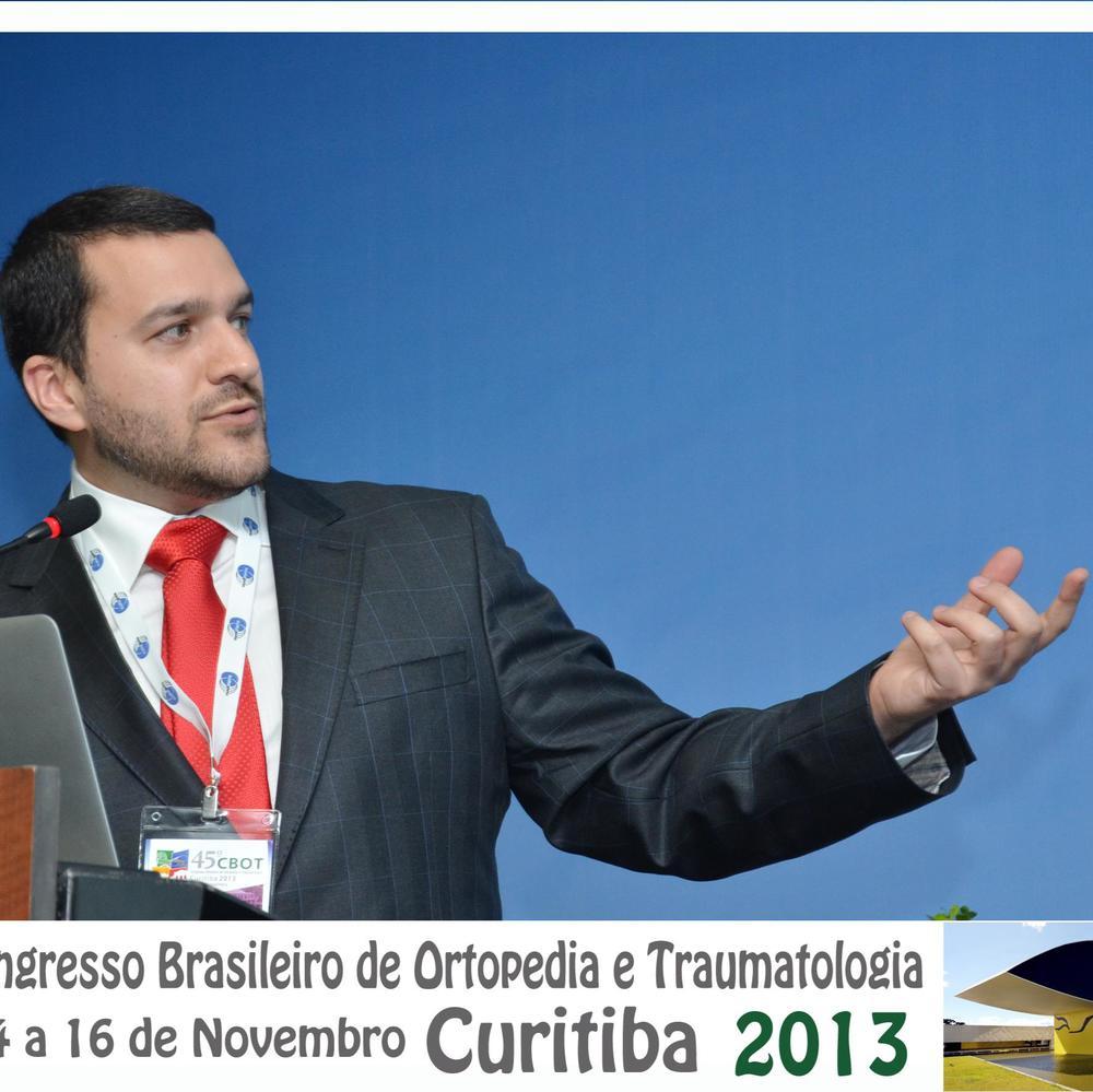Dr. David Gusmão, Palestra no Congresso Brasileiro de Ortopedia e Traumatologia em Curitiba 2013