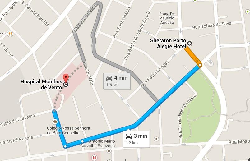 Link para o google maps