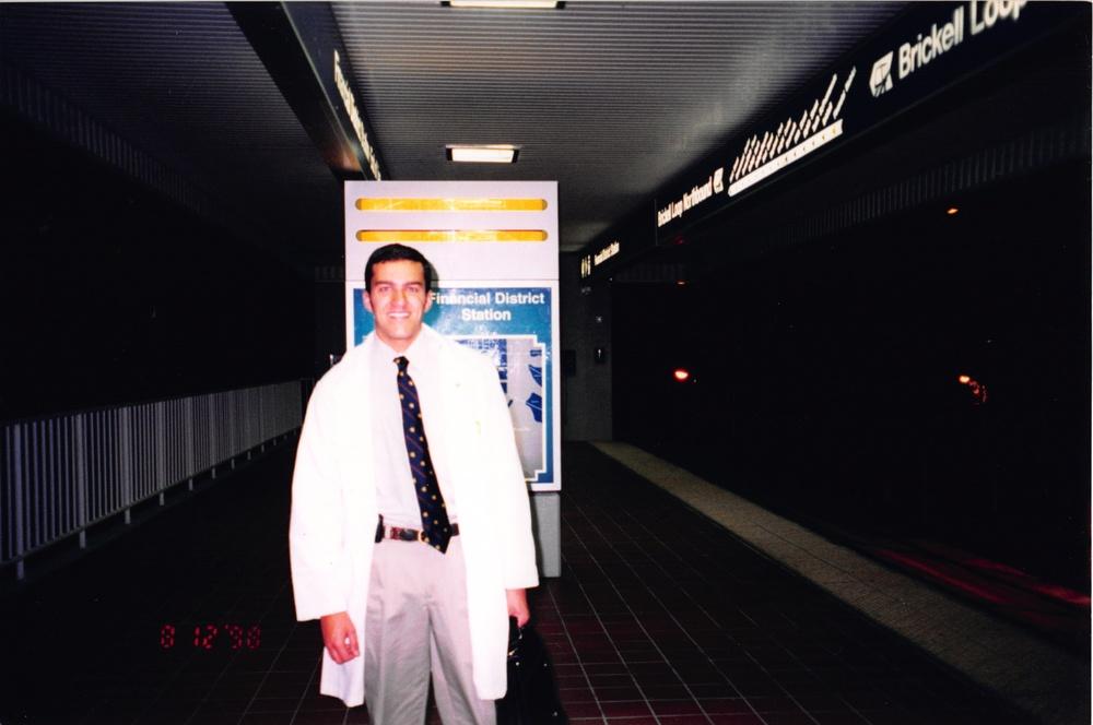 Início do Doutorano no JacksonMemorial Hospital em Miami. Jornada começava as 5h da manhã indo até as 18h da tarde.