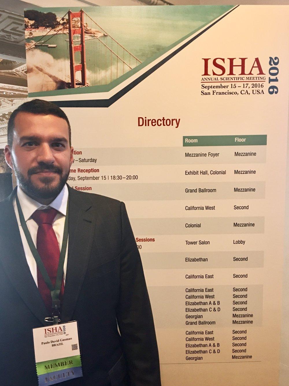 Dr. David Gusmao ISHA 2016