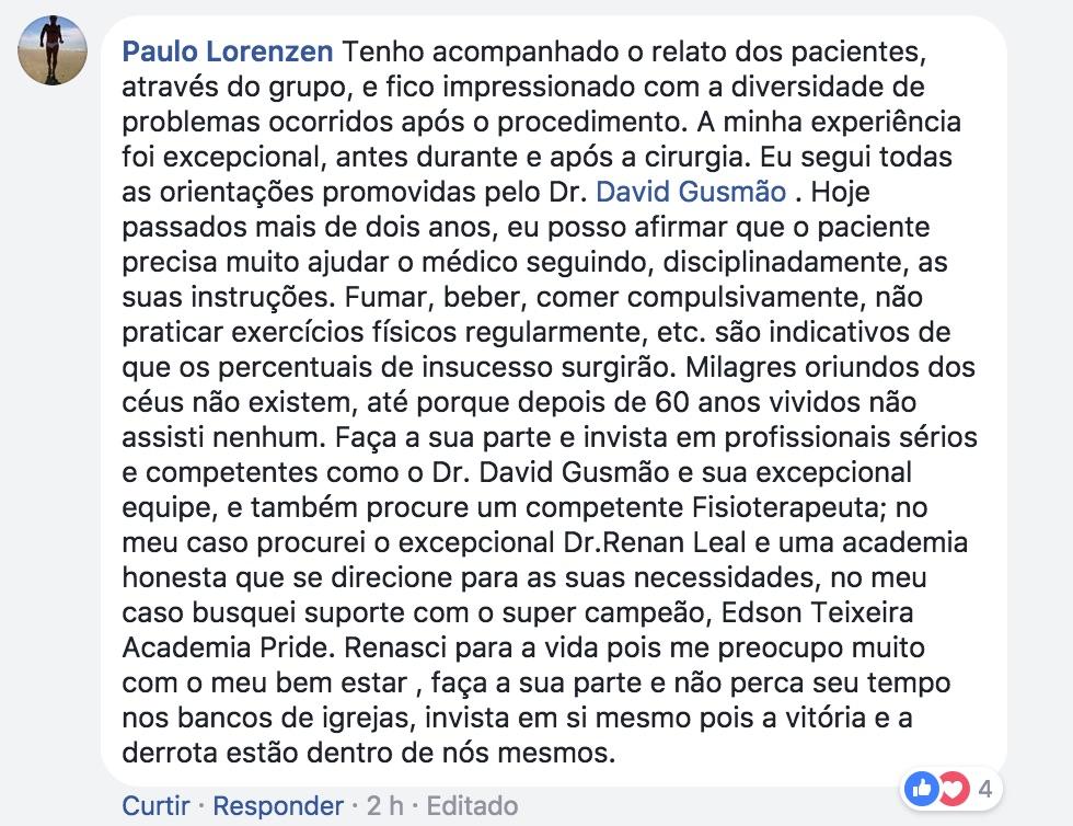 Depoimento FB Grupo Artroplastia 27_02_2018