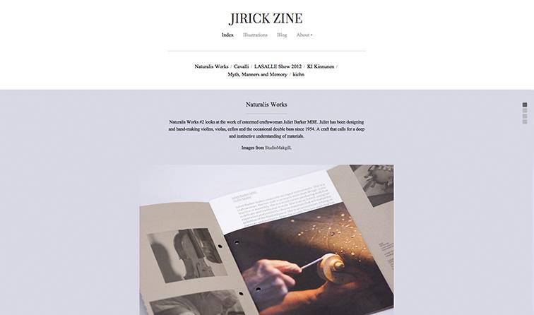 Jirick Zine (Serif)