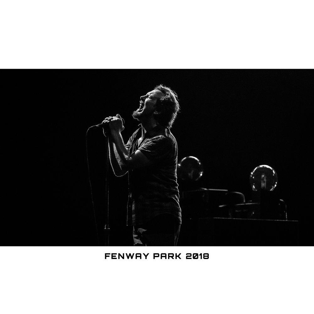 Pearl Jam - IG - Print Sale EV BW Fenway Park 2018 - Image 3.jpg