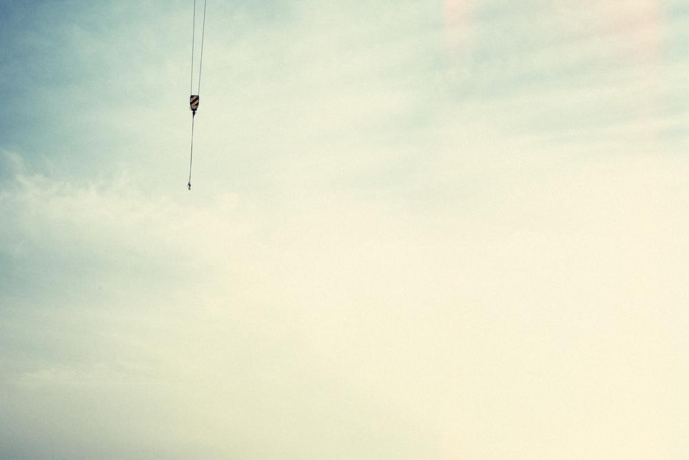 Quite 3 (Crane in Sky).
