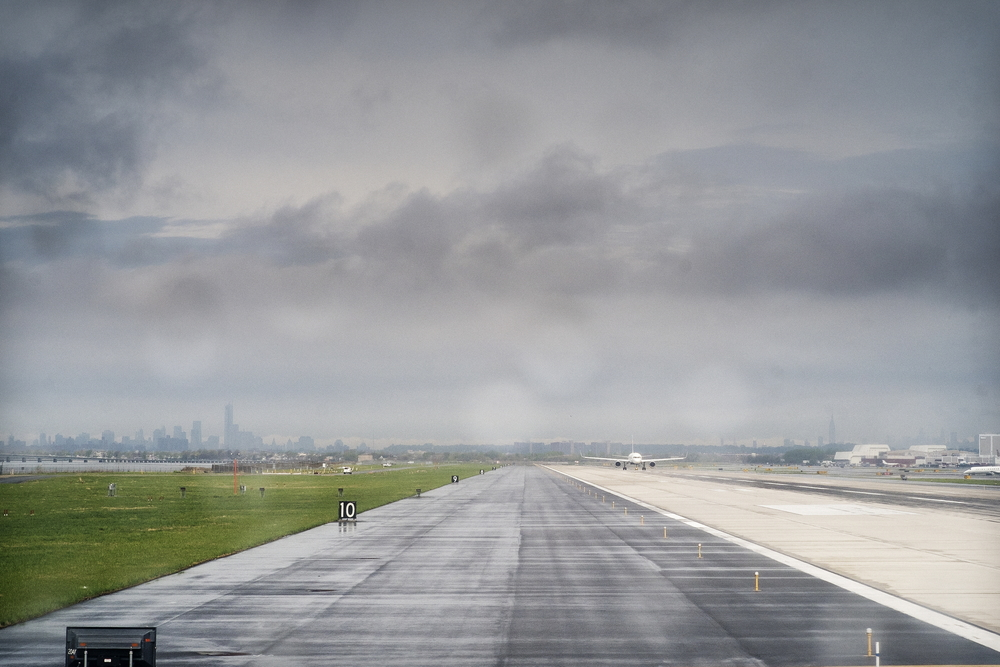 Waiting for takeoff, JFK. (For complete series, click here)