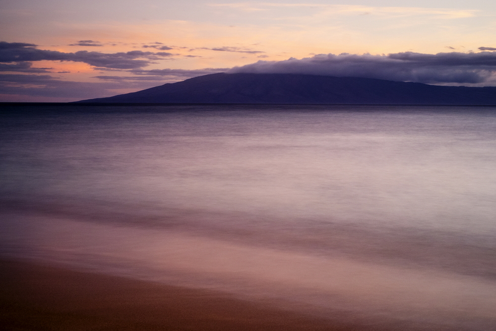 Maui Sunset 3, 35mm, 30 seconds at f/10. ISO 800.