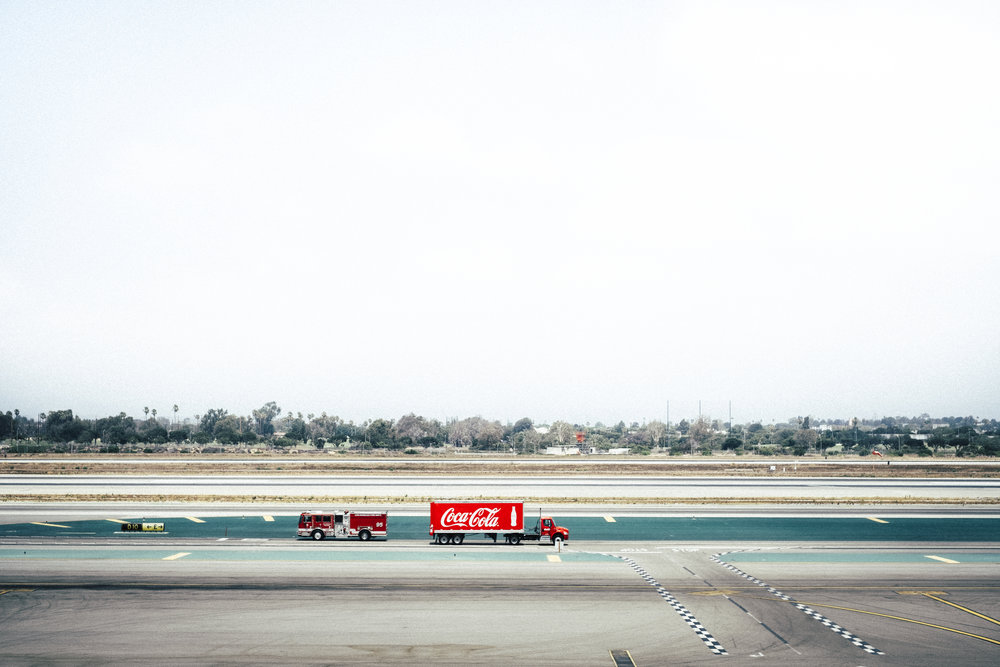 "Definitely, one of my favorites this year. I've added this image to my  ""Airports"" portfolio . It was a well timed shot from LAX Terminal 3, I believe. X-Pro2, 1/210s, F/5.6, 35mm Prime."