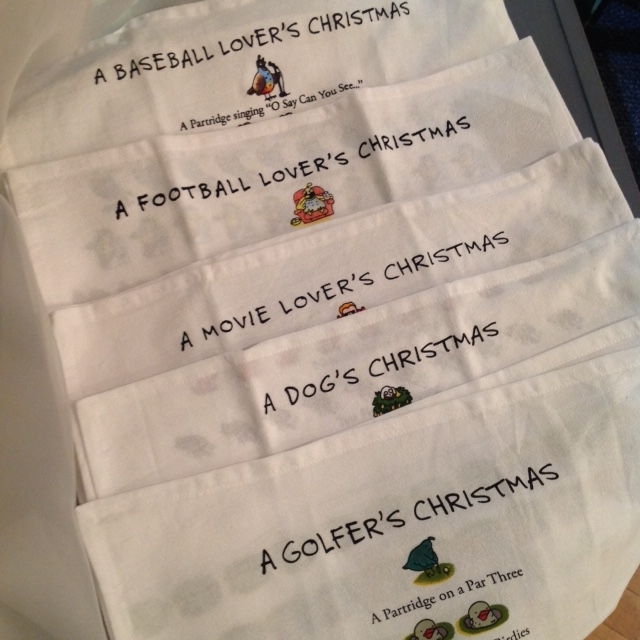 12-Days of Christmas Themed Towels