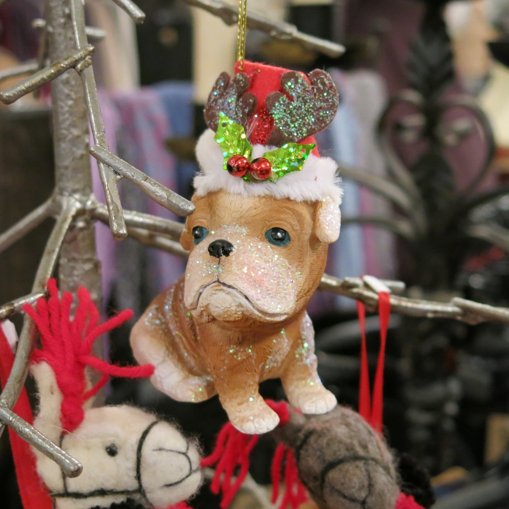 Christmas Puppy Ornament