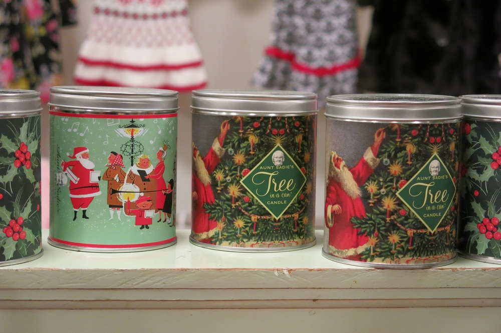 Aunt Sadie's Christmas Candles