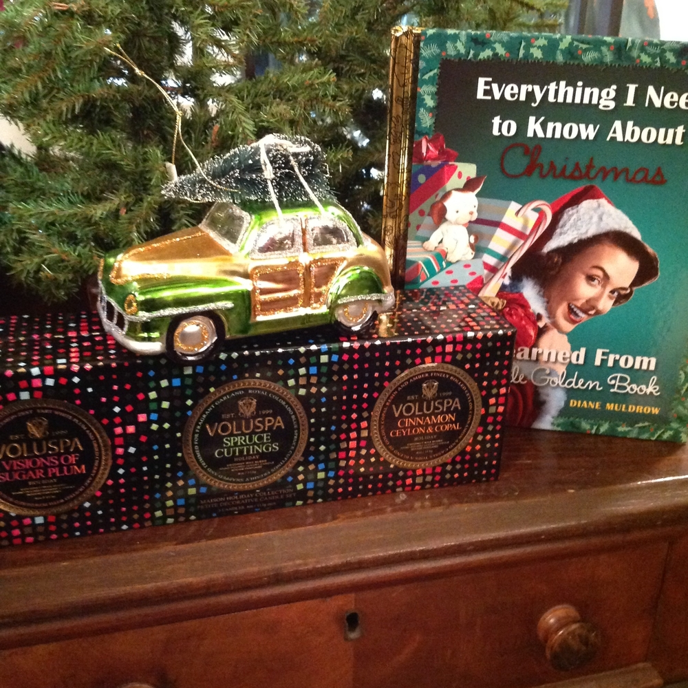 Retro Ornaments and Golden Books