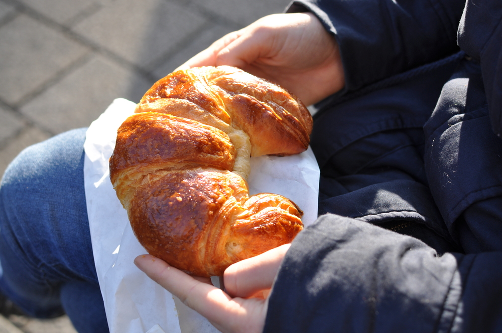 The best croissants we have ever tasted.