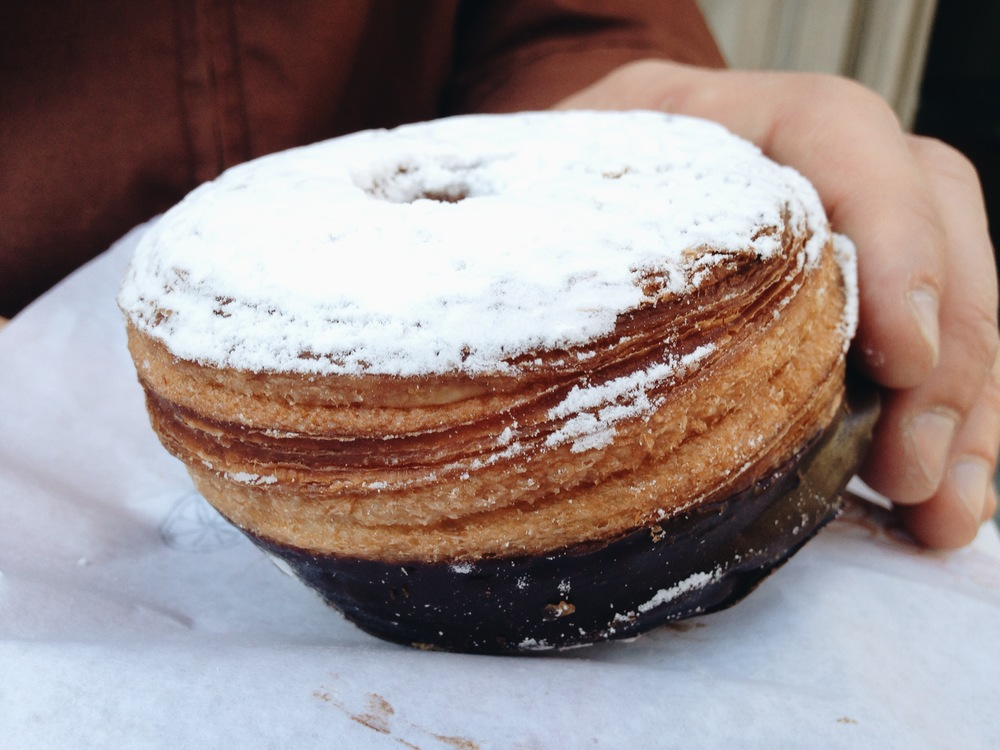 Our first 'Cronut.' Not our last.