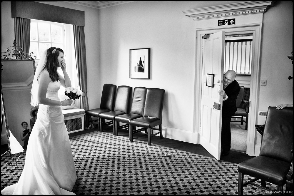 Wedding photography at Warbrook House