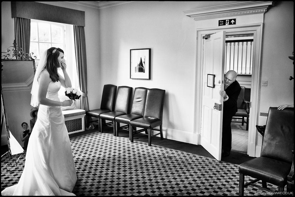 Wedding photography at Warbrook House
