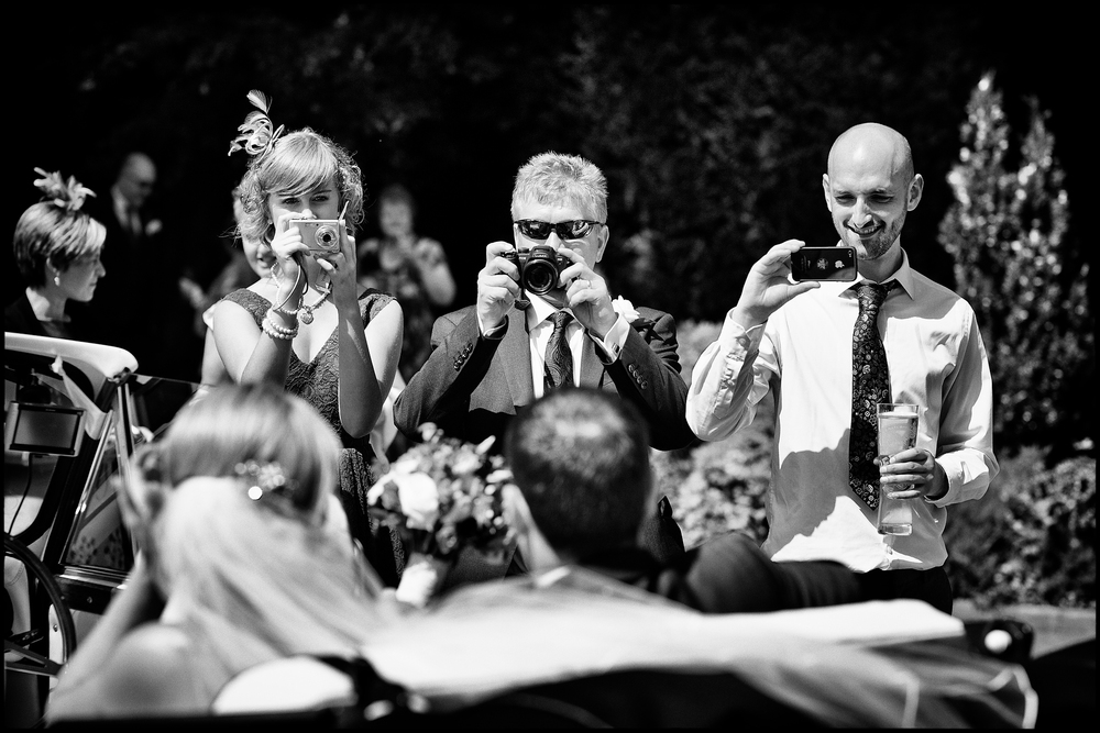 Wedding photojournalism at De Courceys Manor, Cardiff